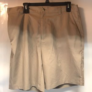 Adidas Casual Athletic Shorts Tan Color Size 36 😊